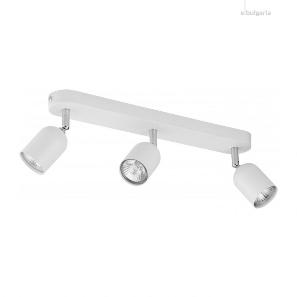 спот top, white, 3xGU10, tk lighting, 4413