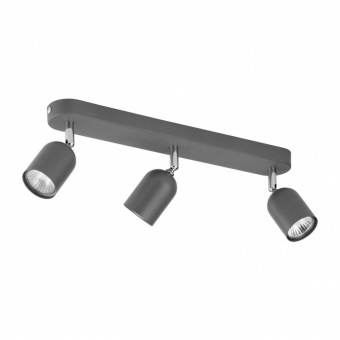 спот top, grey, 3xGU10, tk lighting, 3304