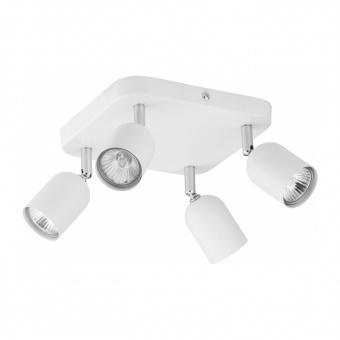 спот top, white, 4xGU10, tk lighting, 4414