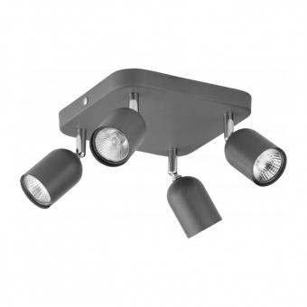 спот top, grey, 4xGU10, tk lighting, 3306