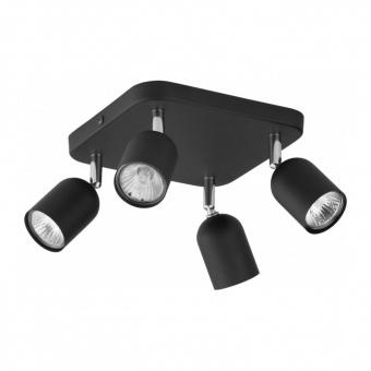 спот top, black, 4xGU10, tk lighting, 4418