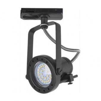 спот за монофазна шина tracer, black, 1xGU10, tk lighting, 4066