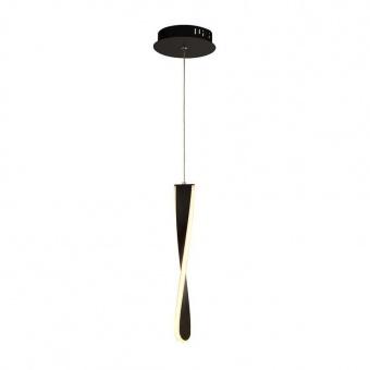 пендел paddle, matt black, led 11w, 3000k, 315lm, searchlight, 8671-1bk