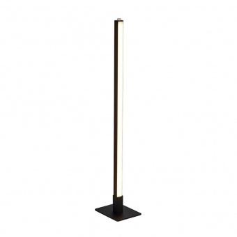 настолна лампа tribeca, matt black/white pc shade, led 7.8w, 2700k/3000k/4000k, 536lm, searchlight, eu96382-1bk