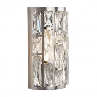 аплик bijou, chrome/crystal, 2xE14, searchlight, 6582-2cc