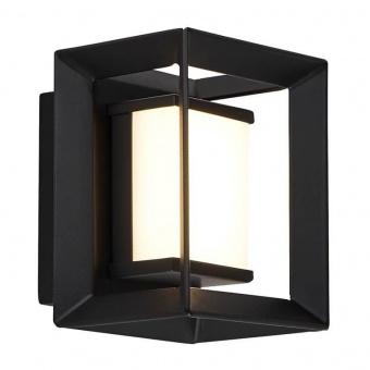 аплик chaplin, black/white, led 1.7w, 3000k, 68lm, searchlight, 74303-1bk