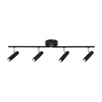спот handlebar, black, led 10w, 3000k, 742lm, searchlight, 71201-4bk