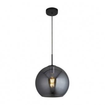 пендел amsterdam, matt black/smoked, 1xE27, searchlight, 1031-1sm
