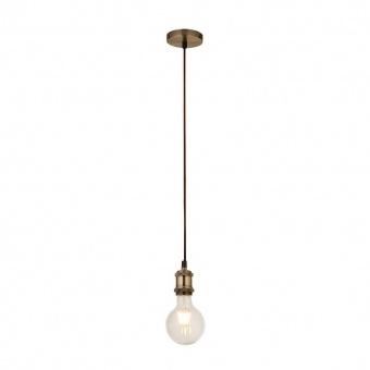 пендел suspension, antique brass, 1xE27, searchlight, 7461ab