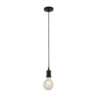 пендел suspension, matt black, 1xE27, searchlight, 7461bk