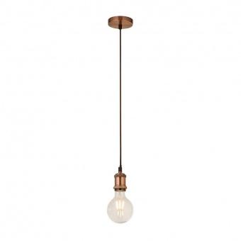 пендел suspension, antique copper, 1xE27, searchlight, 7461cu