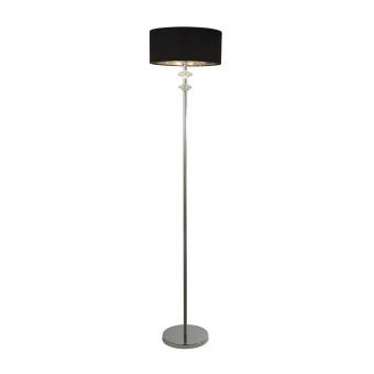 лампион new orleans, chrome/clear/black, 1xE27, searchlight, eu7650cc