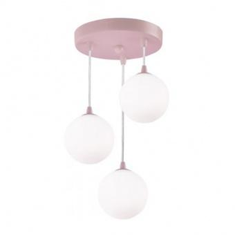 полилей kids, pink/opal, 3xG9, searchlight, 3423-3pi