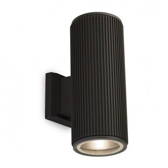 градински аплик, black/clear, 2xE27, searchlight, 6872bk