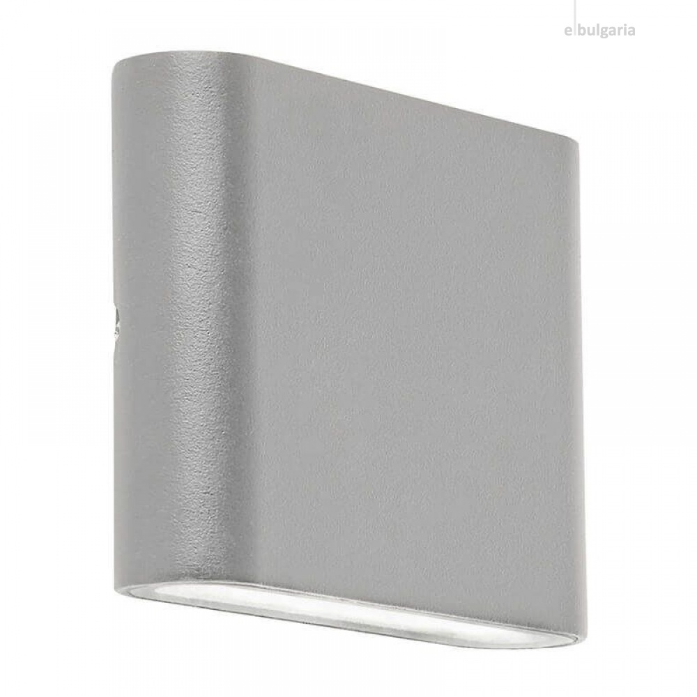 градински аплик, sand grey/clear, led 6w, 3000k, 400lm, searchlight, 2572gy