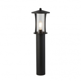 градински стълб pagoda, black/clear, 1xE27, searchlight, 8478-730