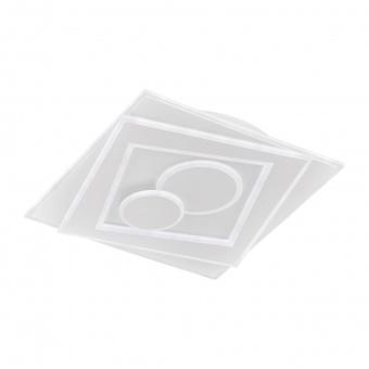 плафон ratio, white, led 48w, 3000k-6500k, 4600lm, fischer&honsel, 20136
