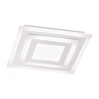 плафон gorden, white, led 37w, 2700k-6500k, 3100lm, fischer&honsel, 20890