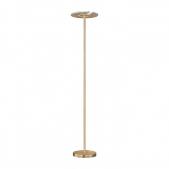 лампион dent, brass matt coloured+polished, led 30w, 2700k-3550k-4000k, 3500lm, fischer&honsel, 40226