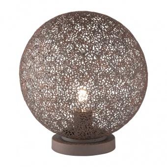 настолна лампа willo, antique rust coloured, 1xE27, fischer&honsel, 50402