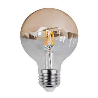 led лампа 7w gold, e27, топла светлина, optonica, 2700k, 800lm, 1890