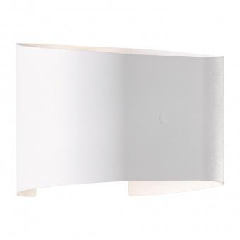аплик wall, white matt, 2xled 3w, 3000k, 540lm, fischer&honsel, 30261