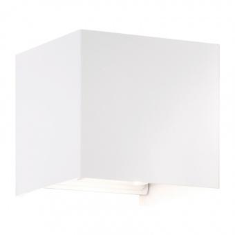 аплик wall, white matt, 2xled 3w, 3000k, 540lm, fischer&honsel, 30258