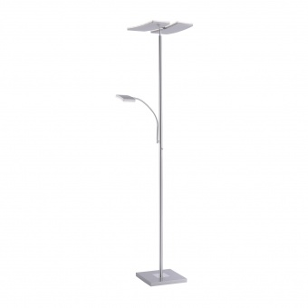 лампион lolasmart-ruben, stainless steel, 2xled 11w+1xled 4.8w, 2700k-5000k, 2900lm, rgb, leuchtendirekt, 11925-55