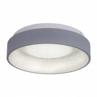 плафон dante, grey, led 40w, 2700k-5000k, 2250lm, leuchtendirekt, 14329-15