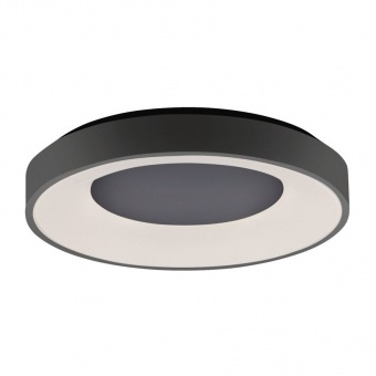 плафон anika, black, led 60w, 2700k-5000k, 4500lm, leuchtendirekt, 14327-18