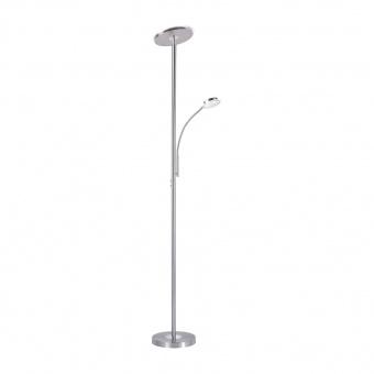 лампион hans, stainless steel, led 22w+led 4w, 3000k, 2400lm, leuchtendirekt, 11709-55