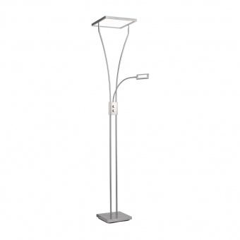 лампион marian, stainless steel, led 25w+led 3.60w, 3000k, 2400lm, leuchtendirekt, 11722-55