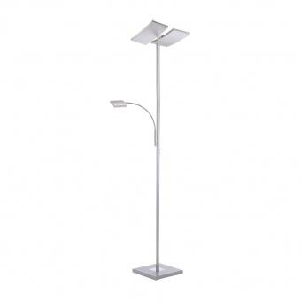 лампион ruben, stainless steel, 2xled 11w+led 4w, 3000k, 1740lm, leuchtendirekt, 11725-55
