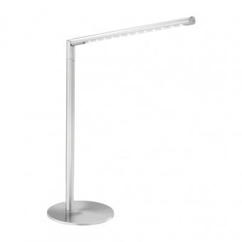 настолна лампа dawda, stainless steel, led 4.80w, 3000k, 400lm, leuchtendirekt, 11011-55