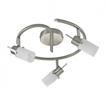 спот max led, stainless steel, 3x 4w, 3000k, 1200lm, leuchtendirekt, 11933-55