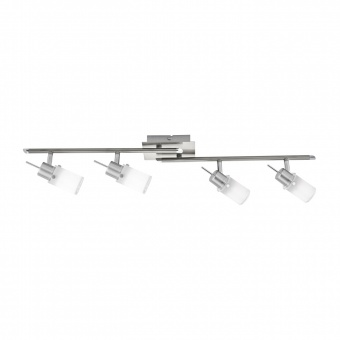 спот max led, stainless steel, 4x 4w, 3000k, 1600lm, leuchtendirekt, 11934-55