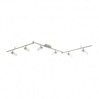 спот max led, stainless steel, 6x 4w, 3000k, 2400lm, leuchtendirekt, 11936-55