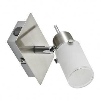 спот max led, stainless steel, 1x 4w, 3000k, 400lm, leuchtendirekt, 11931-55