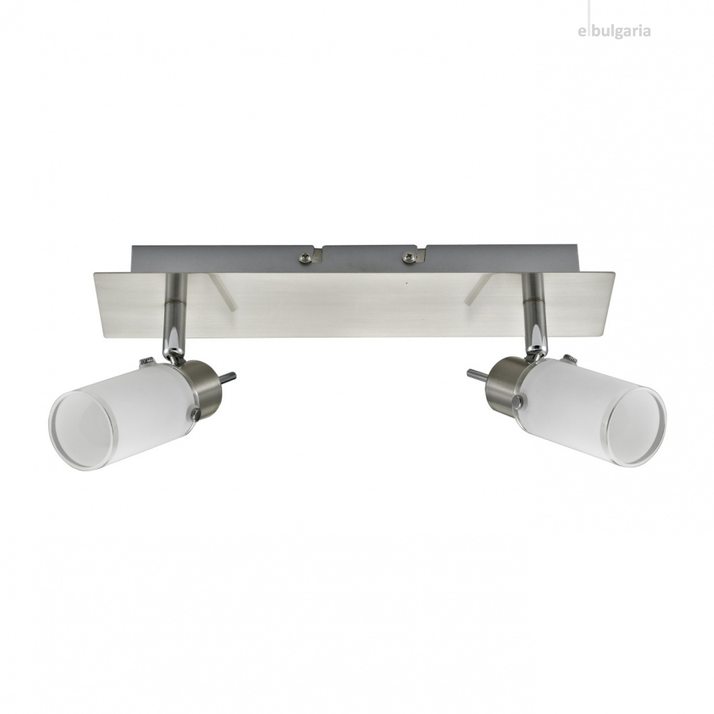 спот max led, stainless steel, 2x 4w, 3000k, 800lm, leuchtendirekt, 11932-55
