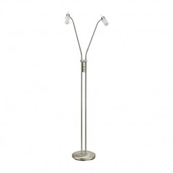 лампион max led, stainless steel, 2x 4w, 3000k, 800lm, leuchtendirekt, 11937-55