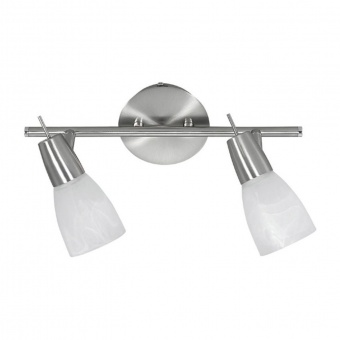 спот julia led, stainless steel, 2x 4w, 3000k, 800lm, leuchtendirekt, 11862-55