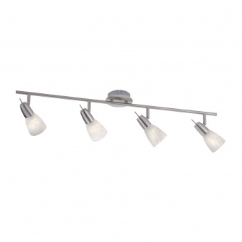 спот julia led, stainless steel, 4x 4w, 3000k, 1600lm, leuchtendirekt, 11864-55