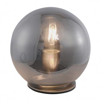 настолна лампа tabea, smoked, 1xE27, leuchtendirekt, 13703-25