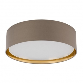 плафон bilbao, beige+gold, 4xE27, tk lighting, 4399