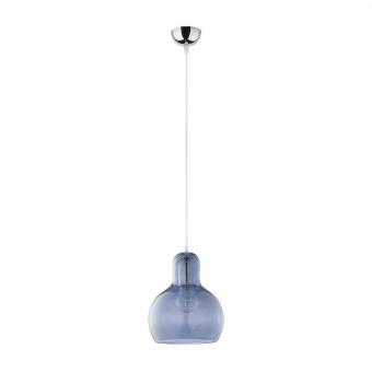 пендел mango, chrome/blue, 1xe27, tk lighting, 599
