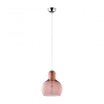 пендел mango, chrome/pink, 1xe27, tk lighting, 588