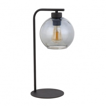 настолна лампа cubus graphite, graphite/black, 1xe27, tk lighting, 5102