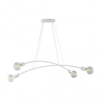 полилей helix, white, 4xe27, tk lighting, 6145