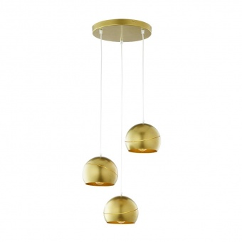 полилей yoda gold orbit, gold, 3xe27, tk lighting, 3448