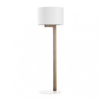 лампион troy white, white/natural, 1xe, tk lighting, 5197